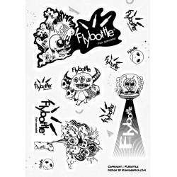 Stickers Flybottle