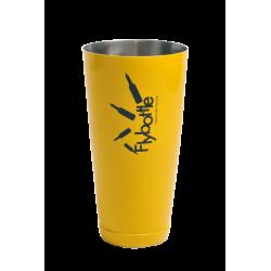 Shaker Tin 28 oz Yellow