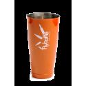 Shaker Tin 28 oz Orange