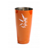 Shaker Tin 28 oz Orange