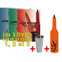 PACK kit Flybottle Classic + tin +3 DVD Flair Session vol. 1, 2 & 3