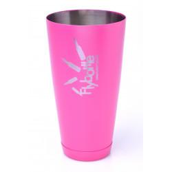 Shaker Tin 28 oz Pink