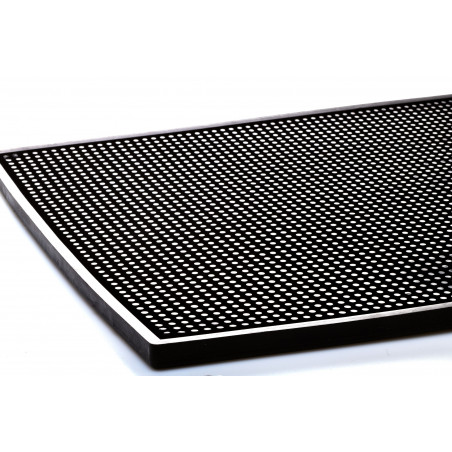 Tapis de bar noir 30x45 cm